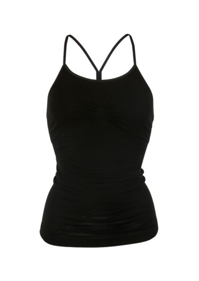 Karna Yoga Cami - Beautiful Black-0