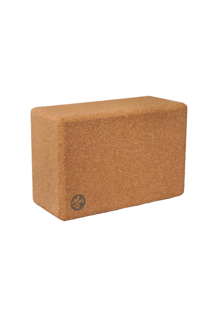 Manduka Cork Block - Brown -0