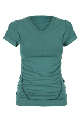 Bamboo Pregnancy T-Shirt - Muted Green-0
