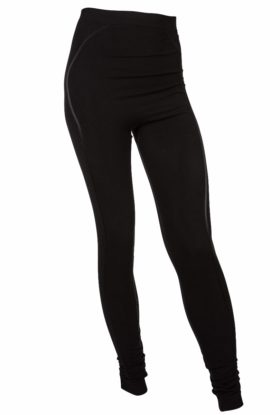 Bamboo Pregnancy Tights - Beautiful Black-0