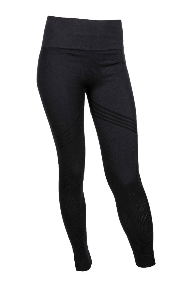 Bandha Arrow Stripe Tights - Beautiful Black-0